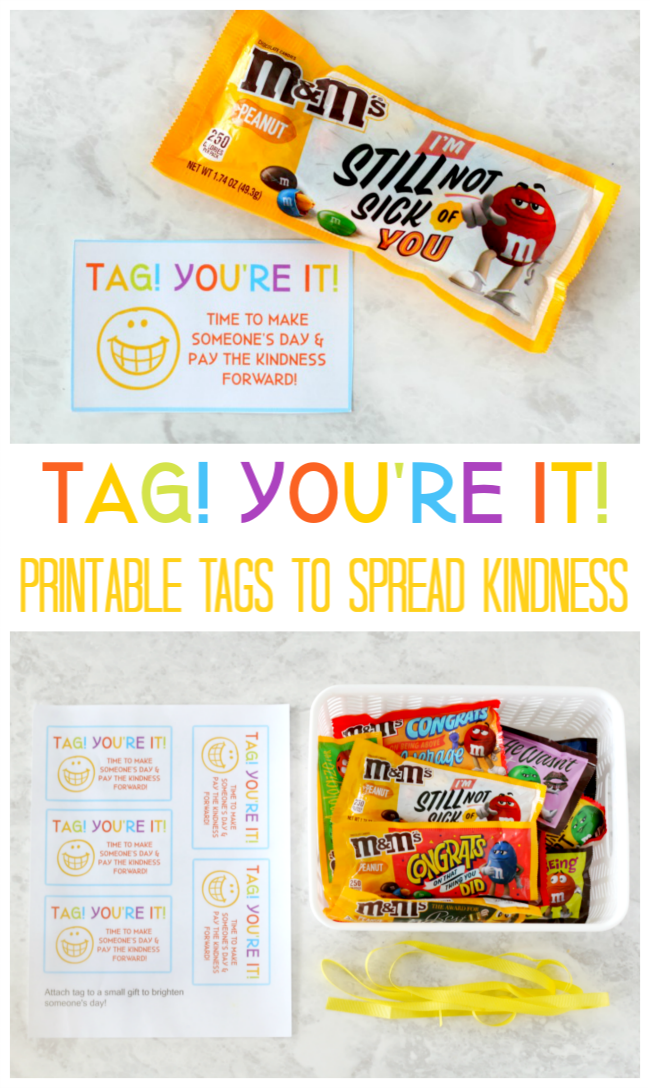 tag! you're it printable tag