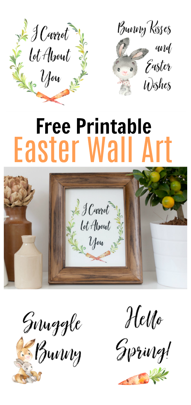 free easter wall art