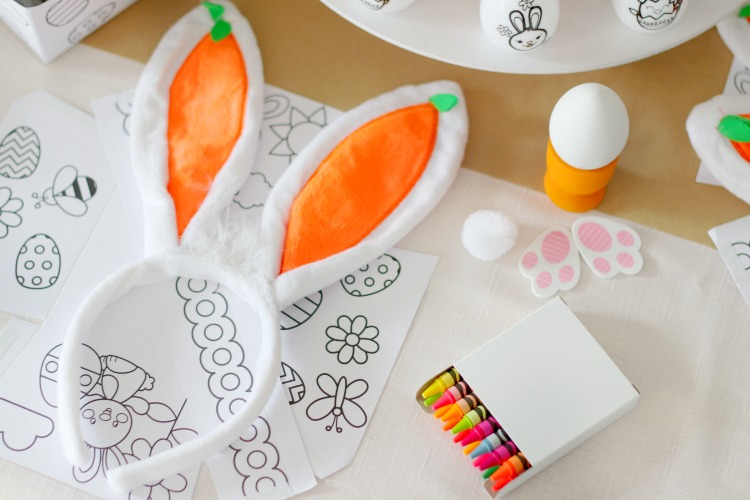 Crafty Easter Party for Kids
