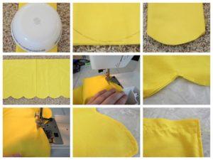 belle princess apron skirt modifications