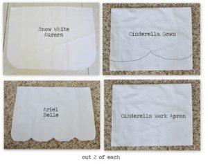 apron modifications for princesses