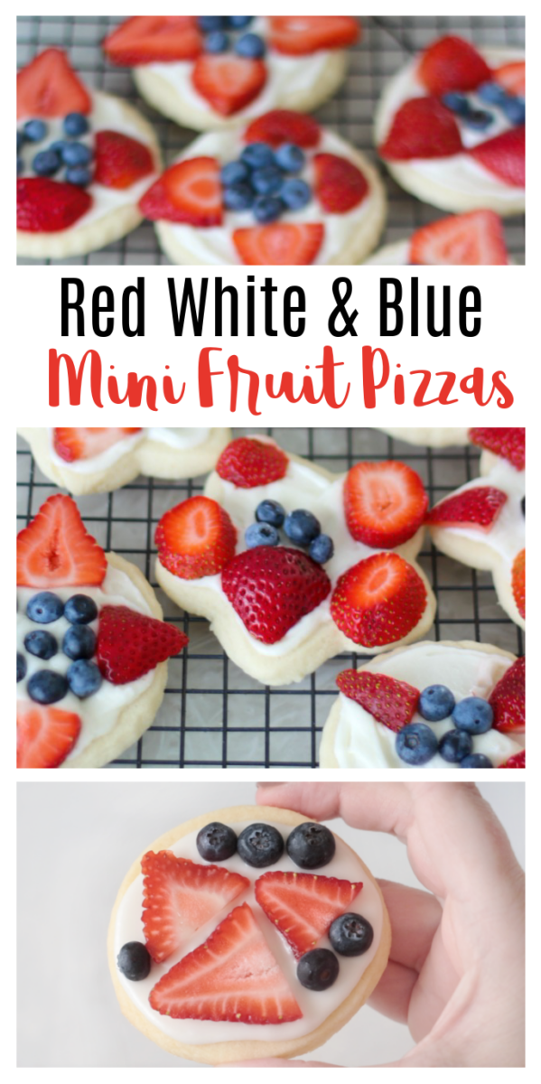 mini fruit pizza sugar cookies