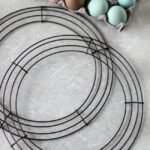 two wire wreath forms