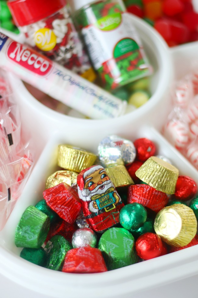 chocolate santa candy