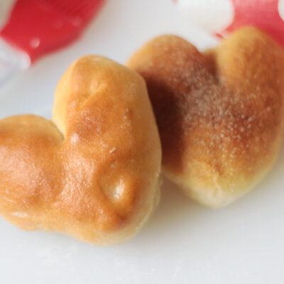two heart rolls