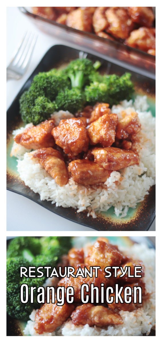 plate of white rice, broccoli and orange chicken