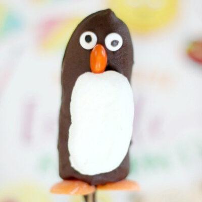 frozen banana penguin