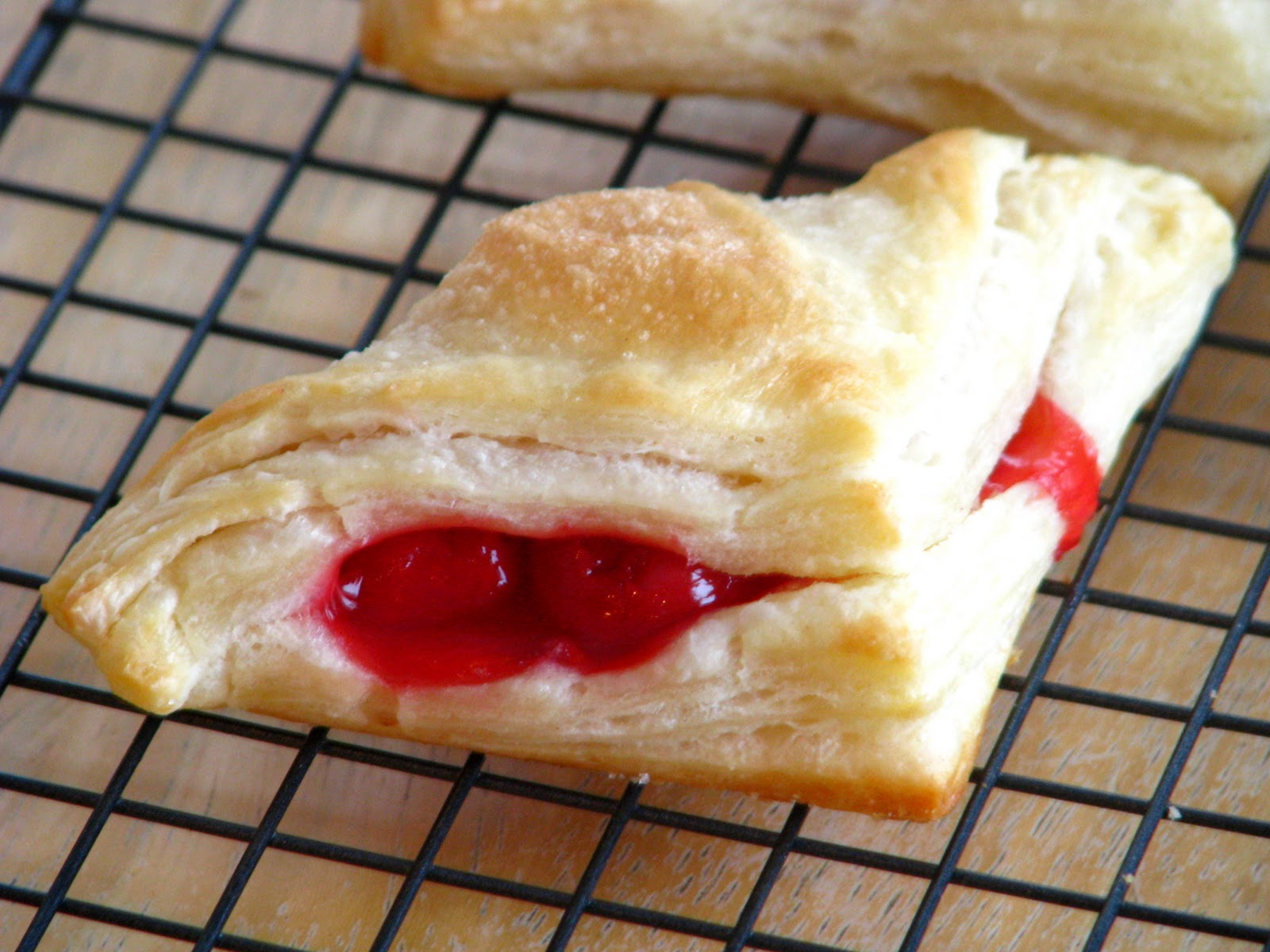 Cherry Turnovers the Old Fashioned Way | Gluesticks