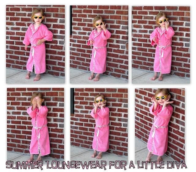 Beach Blanket Experiment: Beach Robe Tutorial Using A Beach Towel: A 1 Hour Project